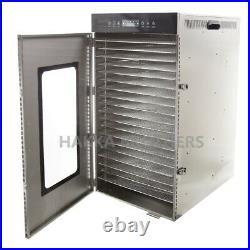 Hakka Stainless Steel Food Dehydrator 20 Layers Commercial Fruit Meat Dryer