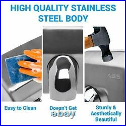 Hand Dryers High Speed Automatic Electric Heavy Duty Stainless Steel