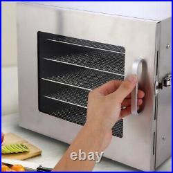 Homdox Commercial 6 Tray Stainless Steel Food Dehydrator Fruit Meat Jerky Dryer