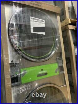 Huebsch 45Lb Stainless Steel Stack Dryer STT45N Gas 200-240 / 50-60Hz NEW