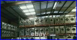 Huebsch Stack Stainless Steel Dryer Coin Op 30LB, 120V 1PH, S/N1204003845 Ref