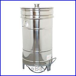 IntBuying Commercial Salad Dryer, 220V Spinner Dryer for Vegetables 5.5 Gallon