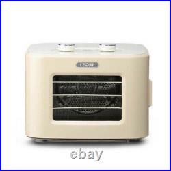 LEQUIP Mini Food Dehydrator LD-401SP Food Dryer Machine 220V Beige Color