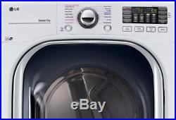 LG 27 Electric Dryer with TurboSteam WHITE 7.4 cu. Ft NOB! DLEX4370W
