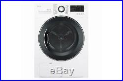 LG DLEC888W 4.2 cu. Ft. Compact Electric Condensing Front Load Dryer -Ventless