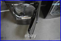 LG DLEX7600KE 27 Black Stainless Front Load Electric Dryer NOB #30257 MAD
