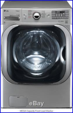 LG Electric Dryer DLEX8100V and Turbo Wash Washer WM8100HVA Graphite Steel NOB