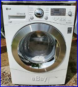 LG Stackable 24-INCH Washer WM1377HW & LG CONDENSATION DRYER DLEC855W 220 VOLT