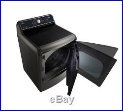 LG SteamDryer Series 29 9.0 cu. Ft. Electric Dryer NOB BLEMISH FREE DLEX7700KE