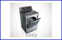 LG SteamDryer Series 7.3 cu. Ft. Steam Gas Dryer With EasyLoad Door DLGX5781VE