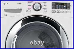 LG SteamDryer Series DLEX3370W 27 Inch Electric Dryer with TrueSteam