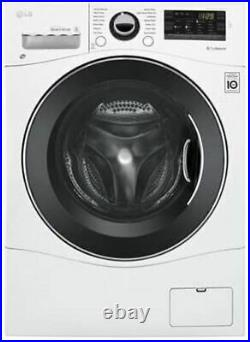 LG WM3488HW 24 Washer/Dryer Combo with 2.3 cu. Ft. Capacity, Stainless Steel Dr