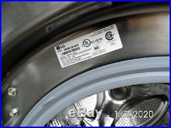 LG Washer & Dryer (WM3679HVA & DLEX3370) Stainless steel