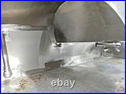 MO-3975, STAINLESS STEEL FLUID BED DRYER. 31-1/2' L x 54 W x 115 T. CIP SPRAY