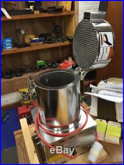 NEW Nobles Stainless Steel Heated Centrifugal Spin Dryer Model Turbo 6