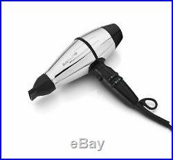 New Boxed BaByliss Pro Steel FX Stainless Steel 2000 Watt Hair Dryer