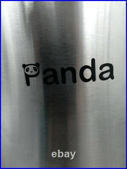 Panda 22 lbs Portable Spin Dryer, 0.6 cu. Ft, 3200 RPM, Stainless Steel