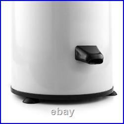 Panda Portable Spin Dryer 110-Volt Reversible Stainless Steel Power Cord White