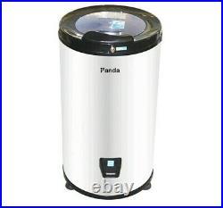 Panda Portable Spin Dryer 110-Volt Reversible Stainless Steel White
