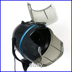 Portable 1300W Adjustable Hooded Floor Hair Bonnet Dryer Stand Up WithWheels