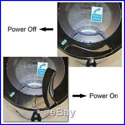 Portable Load Washer Spin Dryer Stainless Steel 110-Volt Electric Laundry Dryer
