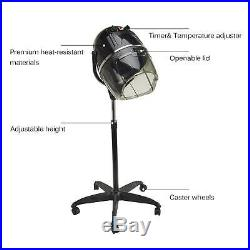 Professional Salon Bonnet Stand-up Hair Dryer Styling with Heating Timer