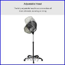 Professional Salon Bonnet Standing Hair Dryer Styling with Heating Timer