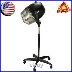 Professional Stand Bonnet Hair Dryer Rolling Blow Dryer Hood Timer Portable