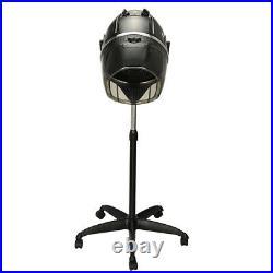 Professional Stand Bonnet Hair Dryer Rolling Blow Dryer Hood Timer Portable Heat