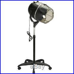 Professional Stand Bonnet Hair Dryer Rolling Blow Dryer Hood Timer Portable K0O1