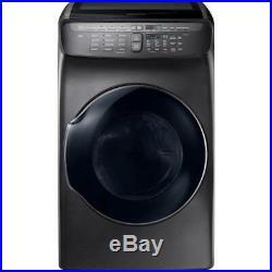 Samsung 27 FlexDry Electric Dryer 7.5 CF Black stainless steel