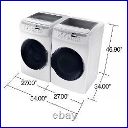 Samsung 5.5CuFt FlexWash Washer and 7.5CuFt ELECTRIC FlexDry Dryer (CD24)