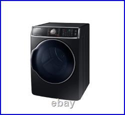 Samsung 9.5 cu. Ft. Electric Dryer in Black Stainless Steel DV56H9100EV
