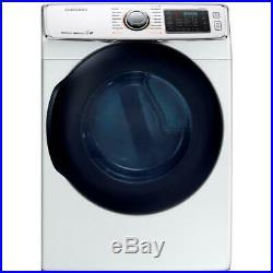 Samsung DV45K6500EW 27 Inch 7.5 cu. Ft. Electric Dryer with Multi-Steam