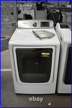 Samsung DV50F9A6GVW 27 White Front-Load Gas Dryer #50737 HRT