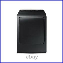 Samsung DVE52M8650V 27 Black Stainless Steel Front Load Electric Dryer NIB