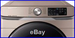 Samsung DVG45R6100C 27 Inch Gas Dryer with Steam Sanitize+