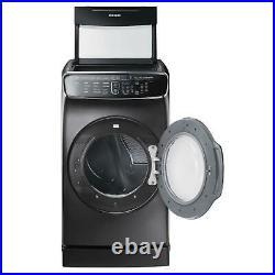 Samsung DVG60M9900V/A3 7.5 cu. Ft. FlexDry Gas Dryer Black Stainless Steel