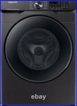 Samsung WF50R8500AV 27 Washer +DVG50R8500V 27 Gas Dryer, Black Stainless Steel
