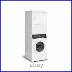 Speed Queen SF7003WG 7 Series Stacked Washer-Gas Dryer with Sanitize