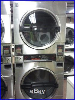Speedqueen Dryer 30lb, Double Dryer in Stainless Steel REFURBISHED