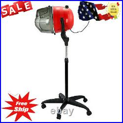 Stand Up Hair Dryer Timer Swivel Hood Caster for Salon Beaut y Professional T2P2