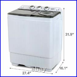 Twin Tub Laundry Spiner 26 cu. Ft. Portable Washer and Dryer Combo