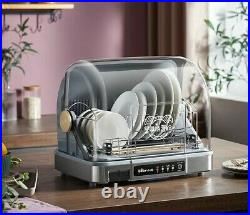 Warm Air DISH DRYER cabinet household Disinfection Sterilization stainless steel