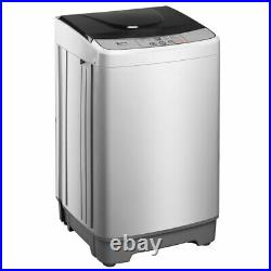 ZOKOP 13.3lbs Full-Automatic Washing Machine Compact Laundry Washer Spin Dryer