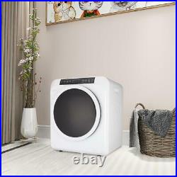 ZOKOP 13lbs Tumble Dryer Electric Compact Clothes Drying Stainless Steel LCD