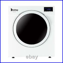 Zokop Front Load Compact Electric Clothes Dryer High-Quality Stainless Steel US